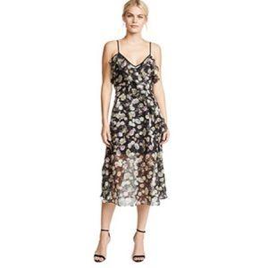 new Talulah ஐ Edgy Playful Flounce Dress ஐ Floral